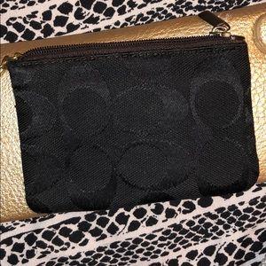 Small Coach zip wallet